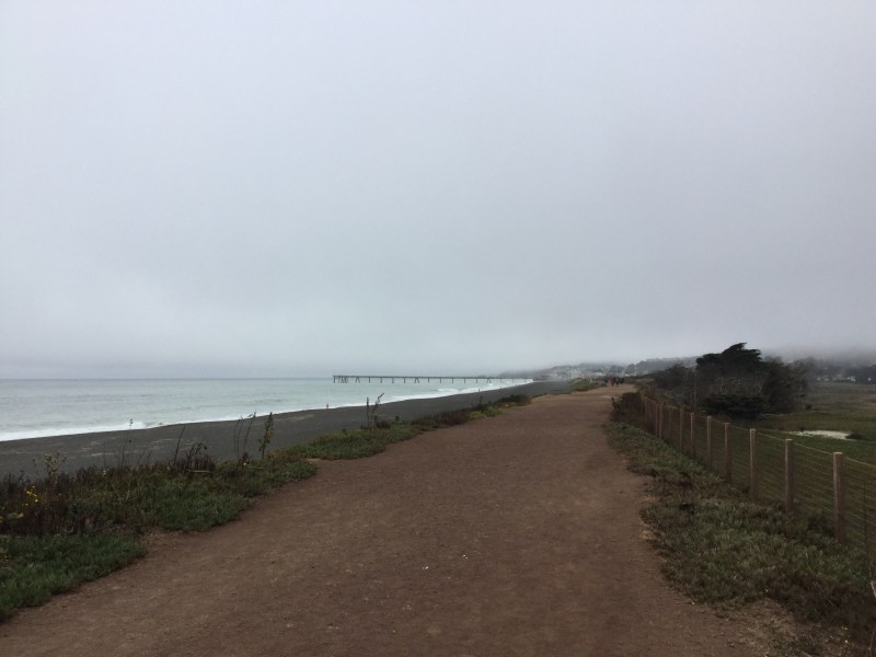 Path to the pier.