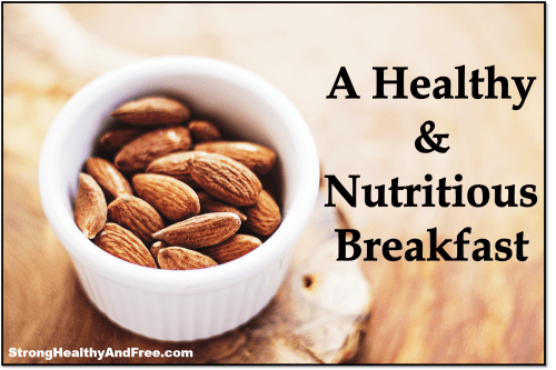 An amazing recipe for the most healthy and nutritious breakfast you ever had that will help you lose pounds while staying strong, healthy and free!