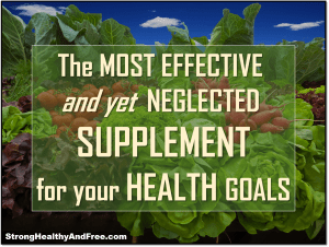 This article reveals the most effective and yet neglected supplement for optimal health. It can help you eat less, have more energy and get healthier!