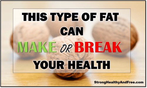 Learn about a type of fat that can make or break your health. Too much or too little can cause a series of health problems.