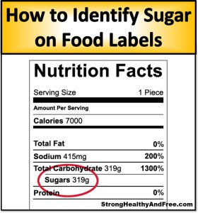 In this article I reveal what to look for in food labels in order to identify healthy and unhealthy sugars and I share my personal healthier recommendations
