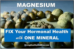 Learn how you can fix your hormonal health by supplementation with Magnesium.