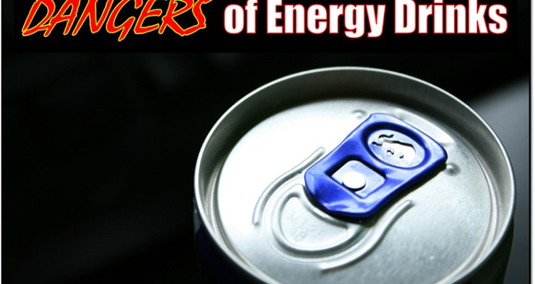 Learn about the many Dangers of Energy Drinks and how they can compromise your health! #energydrinksareevil