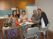 (30/08)E durante a noite, de volta ao dormitório, os alunos ainda trabalham em seus projetos finais!