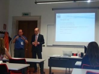 (04/jun) Recebemos boas vindas do Coordenador da Fondazione CUOA de Vicenza, Sr. Paolo Bellamoli