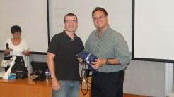 (16/11) Alexandre e Prof. David Ahlstrom