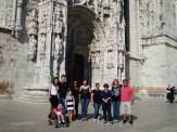 (07/10) Tour por Lisboa guiada. Uma foto no Mosteiro dos Jeronimos