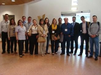 (07/10) O grupo de Lisboa chega ao ISCTE no dia 07/10 para o início das atividades.