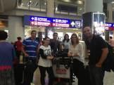(09/11) Após longa viagem, os alunos do Grupo FGV/Strong chegam ao Hong Kong International Airport.