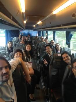 (13-11) Ida para China: Uma hora de ônibus até Shenzhen.