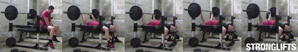 Bench Press setup