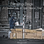 <p>Blessing Bags are a creative way to help the homeless. #blessingbags </p>