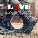 <p>Love is worth fighting for, sometimes love is war. #marriage</p>