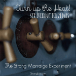 <p>Turn up the heat! Sex everyday for 21 days! #marriage #strongmarriageexperiment </p>