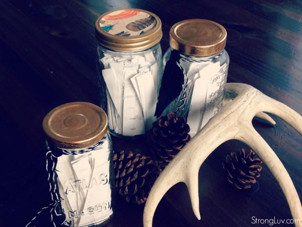dinner conversations mason jar