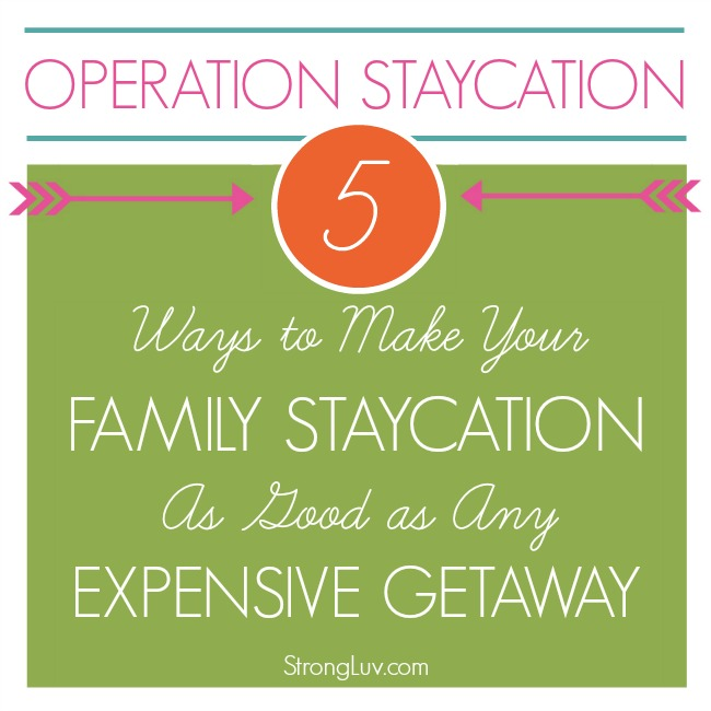 staycation tips