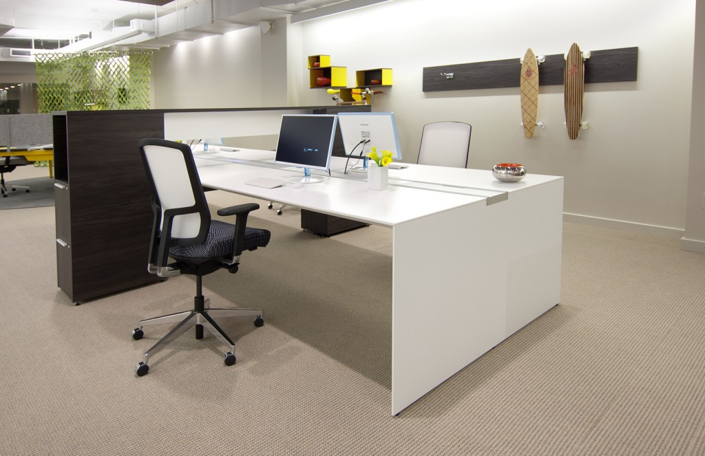 StrongProject can design and install modern office furniture to suit your extroverta nd introvert personality types.