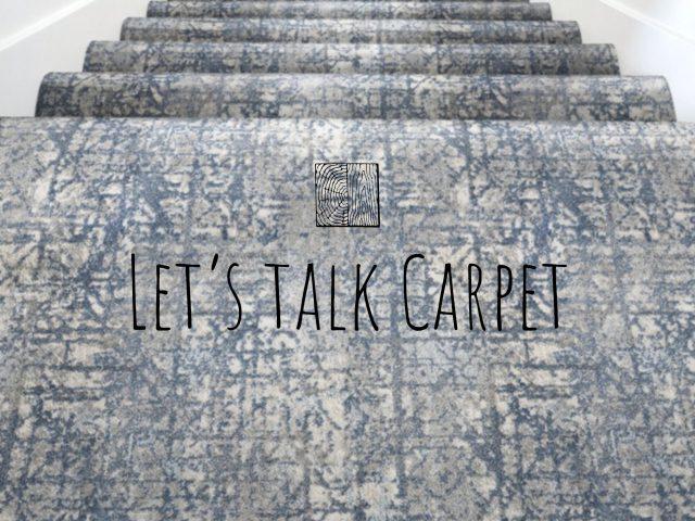 Let's talk carpet