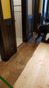 Kelly O'Brien's Staining floor