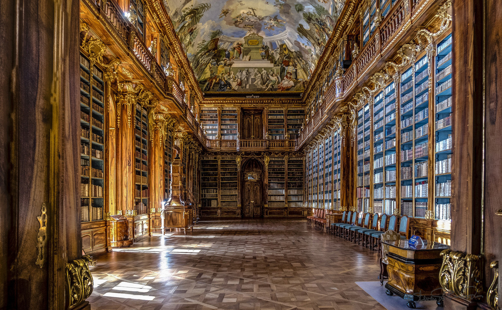 Strong Sense of Place: Prague's Stunning Strahov Monastery Library and Cabinet of Curiosities
