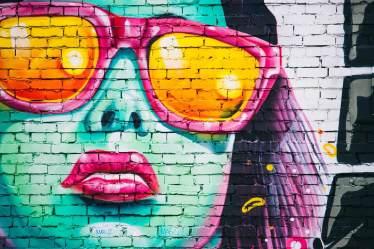 female leader quotes graffiti wall