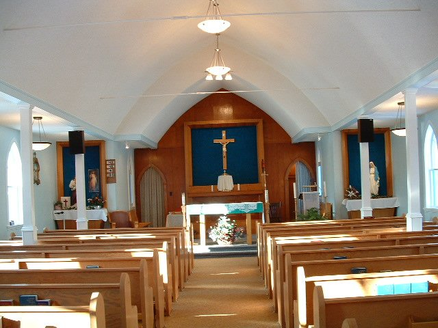 Our Lady of Lourdes - interior