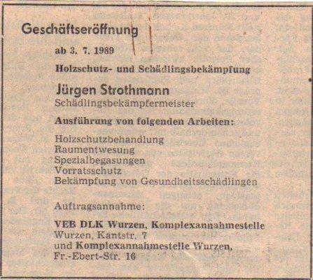 Strothmann Schädlingsbekämpfung