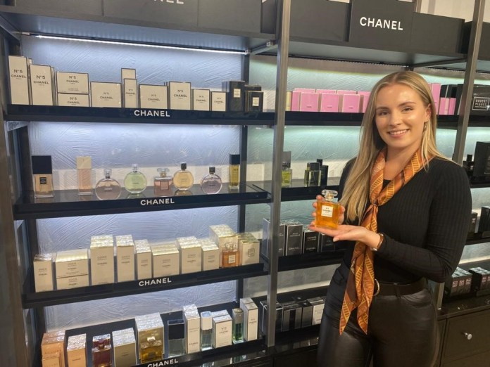 Sandersons Boutique unveils fragrances from the house of Chanel
