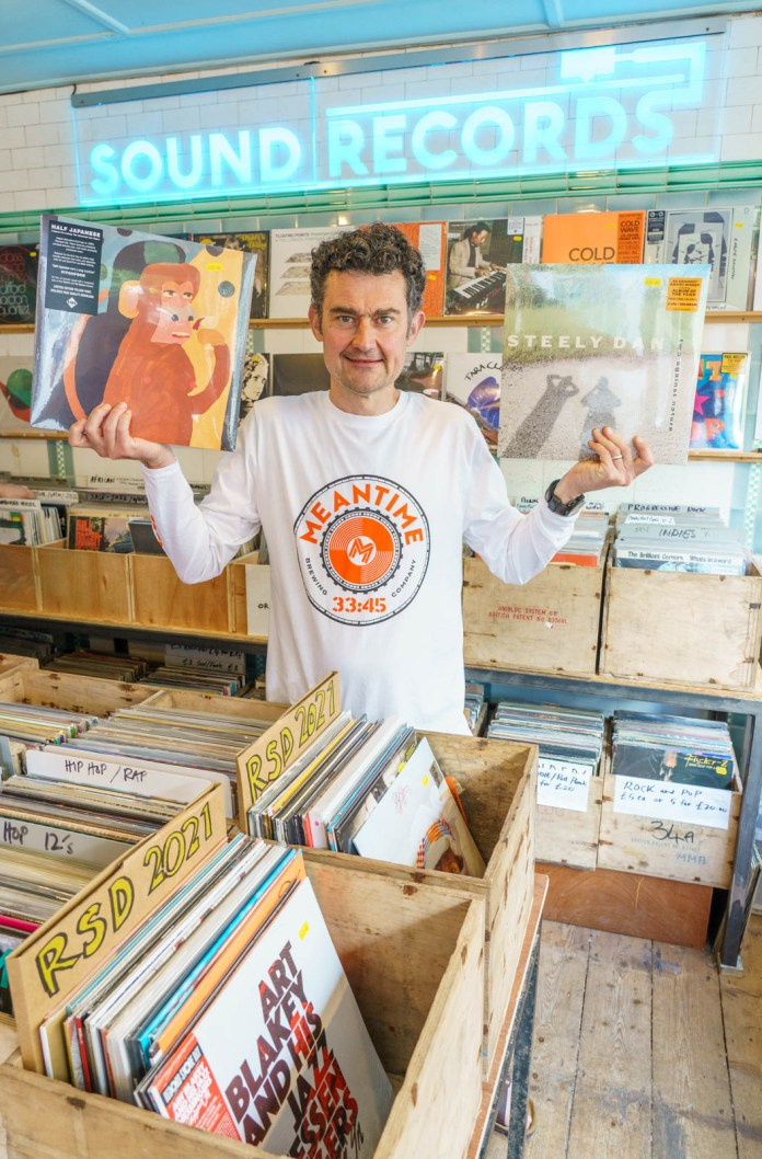 Shoppers make an early start for Record Store Day 2021