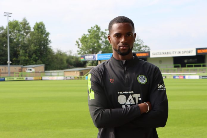 Sadou Diallo: Wolves midfielder reunited with Edwards at Forest Green