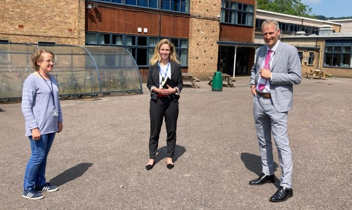 Stroud MP raises Archway School repair issues with the Government