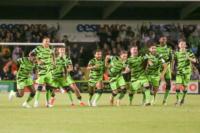 In pictures: Forest Green's dramatic penalty shootout win over Bristol City