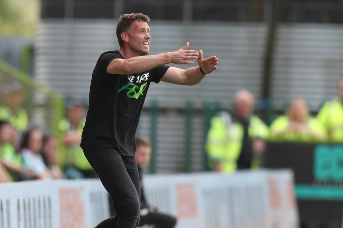 League leaders Forest Green settle for a point in high-octane Tranmere clash