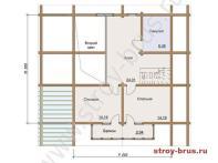 План - 2 этаж (63м2)