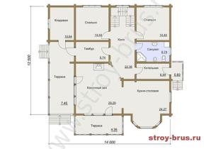 Современный комфортабельный дом