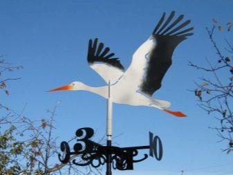 The Profile Range Stork Design Weathervane