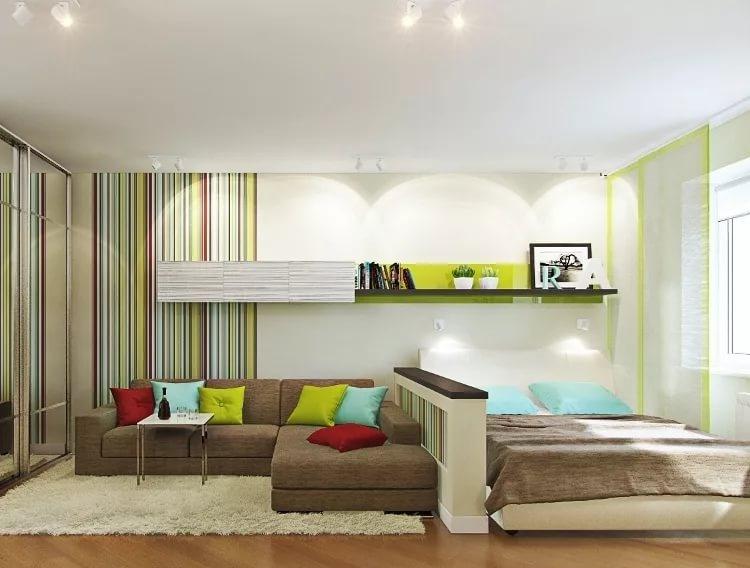 дизайн маленькой гостиной фото 1