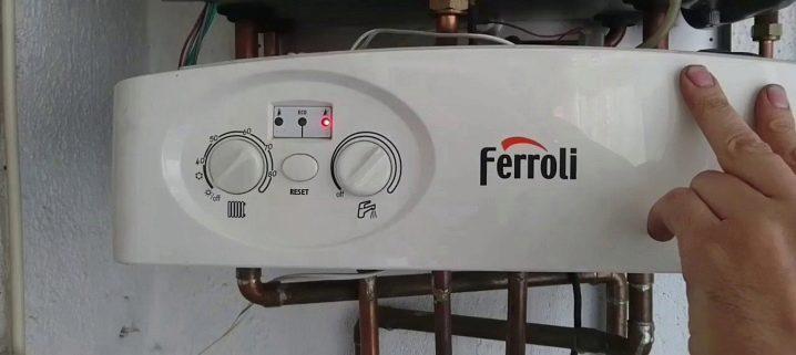 Неисправности газовых котлов Ferroli