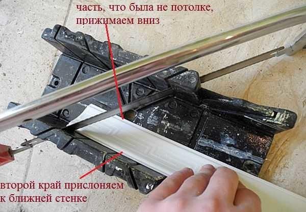 Hur man skär vinkel på takplinten: installera det korrekt i stubben