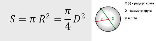 Сечение провода по диаметру: формула