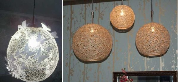 بسته به موضوعات، ما لامپ های مختلف را برای لامپ های معلق دریافت می کنیم