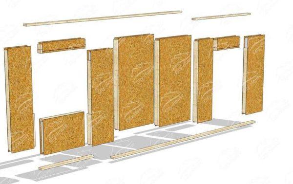 Længden af selvpressen skal være sådan, at den passerer gennem pladen og hele tykkelsen af sovepladsen. Installationstrin i denne fastgørelsesorgan - 40-50 cm.