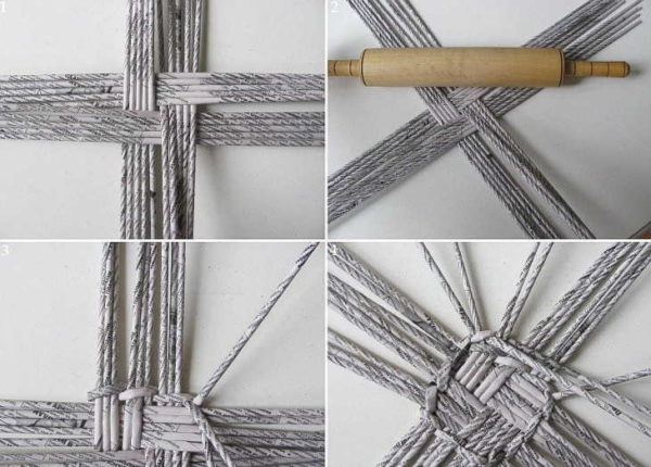 Square Weaves for Products Square