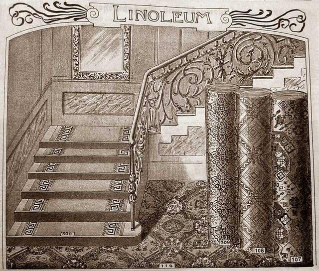 Линолеум Адамзатқа ХІХ ғасырдың екінші жартысынан бастап белгілі