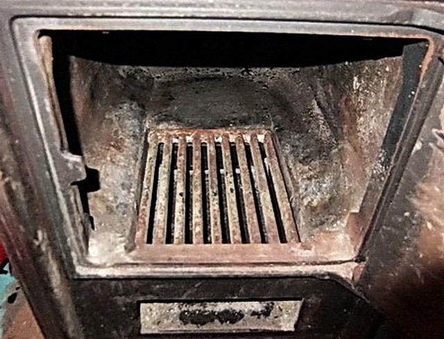 Perpektong gamitin ang cast iron grate