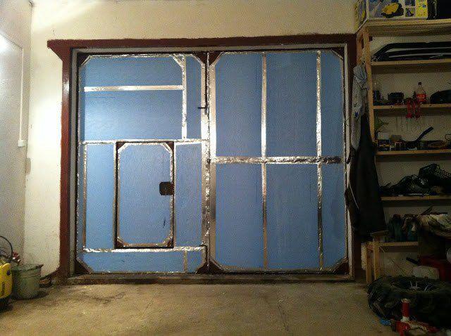 Garaj kapılarının içeriden nasıl izole edilmesi