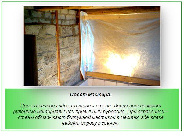 Banhos de parede impermeabilizante