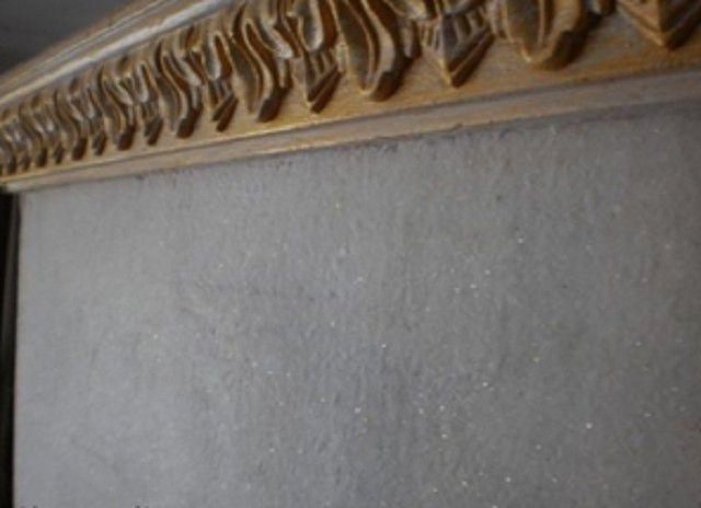 """Mais vai """"papel de parede líquido"""" - eles devem passar a textura da pedra"""