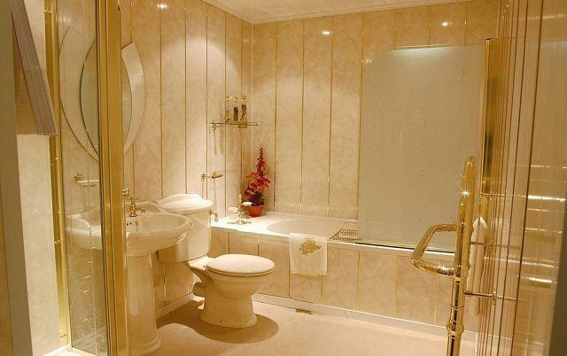 En helt speciel tilgang kræver et badeværelse finish