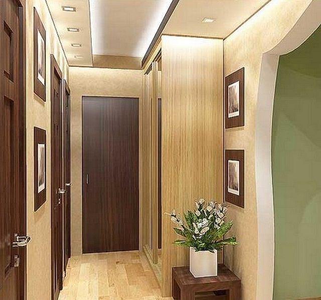 I møblerne af gangen, materialer, resistente over for abrupte belastninger og lunger i rengøring